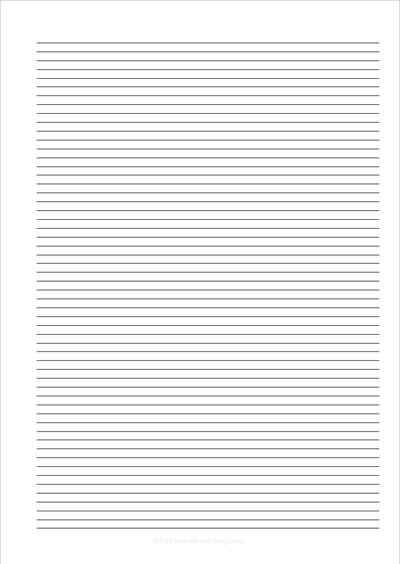 Paper with 56 Lines