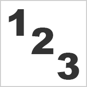 Numbers for printing