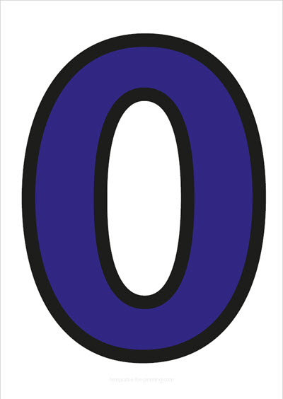 0 Blue with black contours