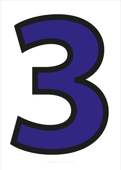 3 Blue with black contours