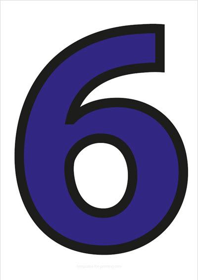 6 Blue with black contours