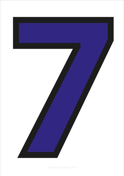 7 Blue with black contours