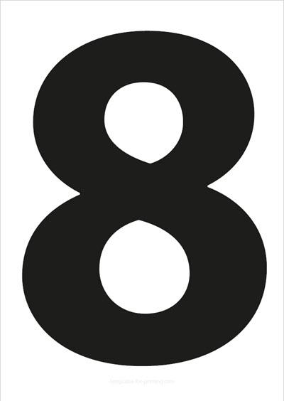 8 Black