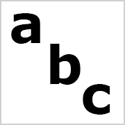 Lower Case Letters Black