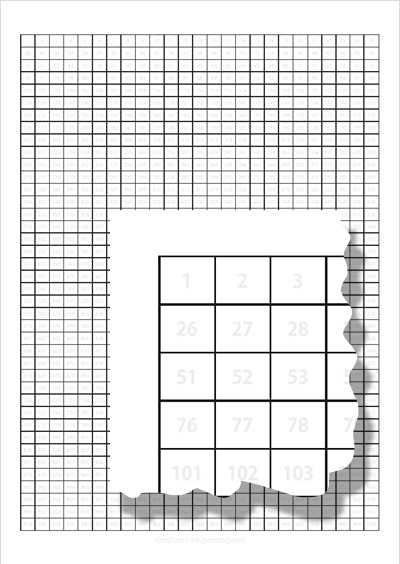 Numbers to learn 1-1000 Gray