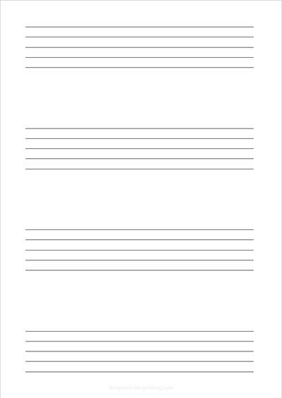 Sheet Music Portrait 4