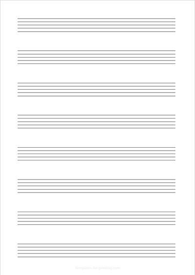 Sheet Music Portrait 8